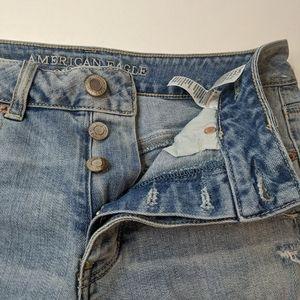 4 Tomgirl American Eagle Cut off Denim Shorts X